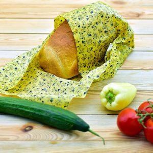 műanyagmentes kenyér csomagoló méhviasszal